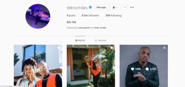 """Here's Why We Think Tekno Has Also Changed His Name to """"Big Tek"""""""