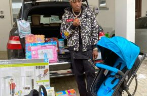 See How Superboy Cheque Revealed He's Expecting a Baby   NotjustOK