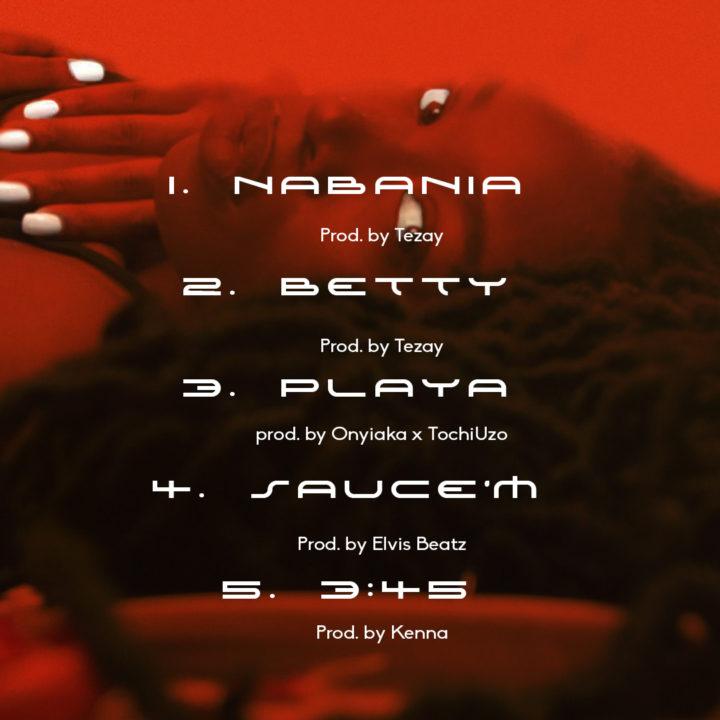 The Trbl EP Tracklist by Onyiaka