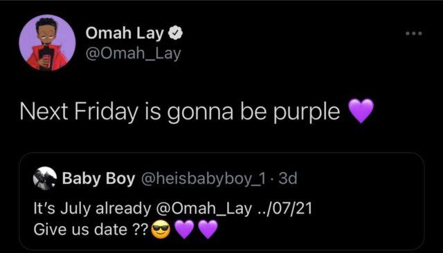 Omah Lay New Single