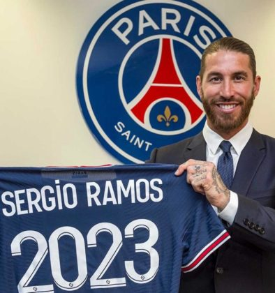 PSG signs Sergio Ramos