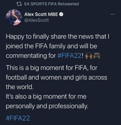 alex tweet