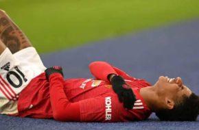 Marcus Rashford injury