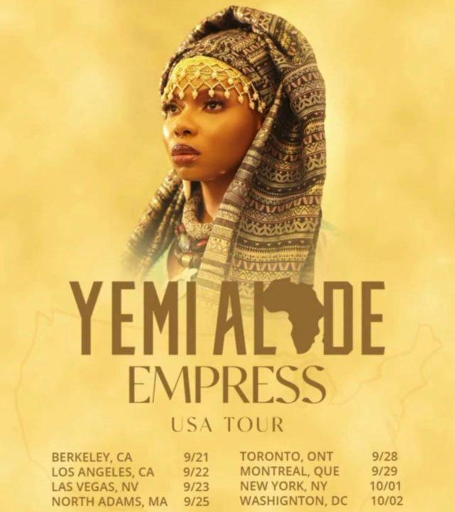 Yemi Alade Tour