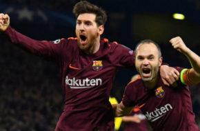 Messi and Iniesta