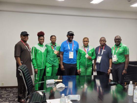 Nigerian Delegates in Japan