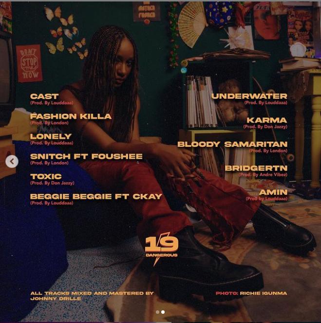 19 & Dangerous tracklist