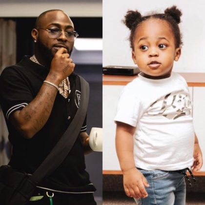 Davido Shares Adorable Video of Son Ifeanyi Watch NotjustOK