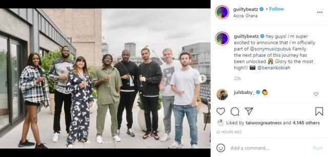 GuiltyBeatz Announces New Deal with Sony Music UK NotjustOK
