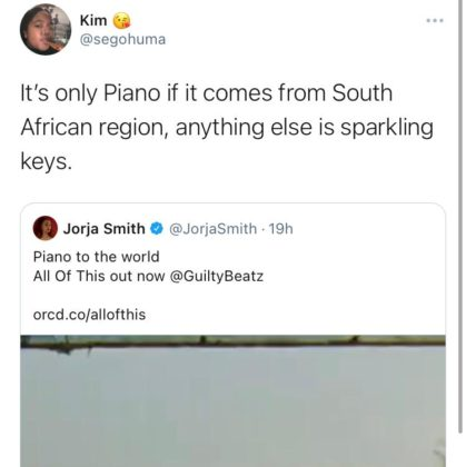 South Africans displeasure with Jorja Smith New Single All of This reactions NotjustOK