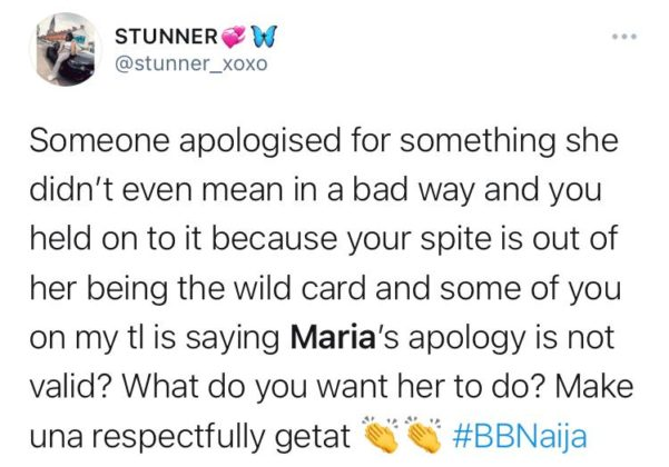 BBNaija: Watch The Video of Maria Clash with Jackie B NotjustOK