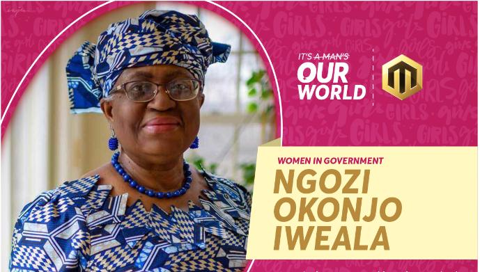 Ngozi Iweala women day campaign