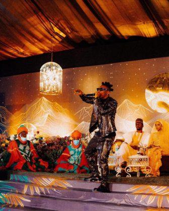 Mayorkun Thrills Fans with Hit Songs at Yusuf Buhari Wedding Watch Video NotjustOK