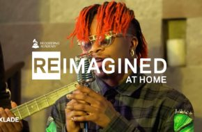 Oxlade Executes Perfect Cover of Skip Marley Song for Grammys Watch Video NotjustOK