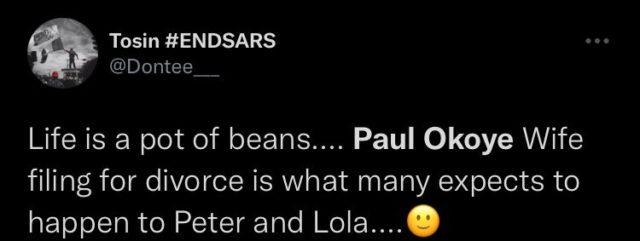 Heated Reactions Trail Paul Okoye Alleged Divorce Papers NotjustOK