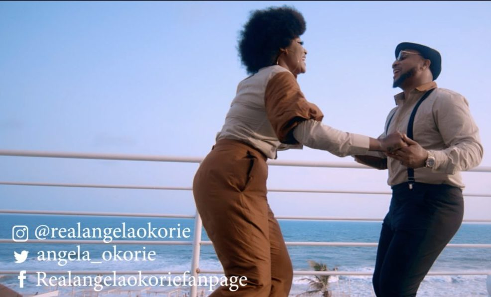 Angela Okorie Releases Exciting Video With B-Red For 'Give Me Love'