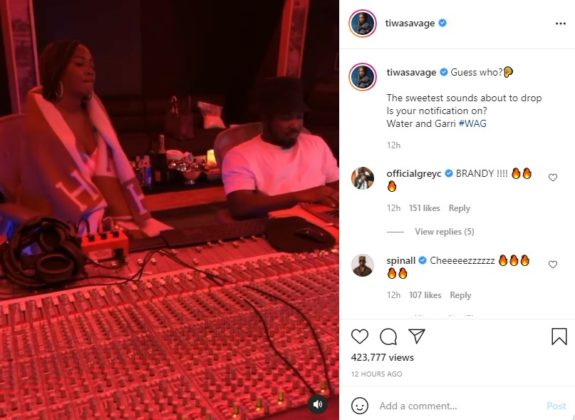 Watch How Tiwa Savage Revealed Brandy Feature on New EP NotjustOK