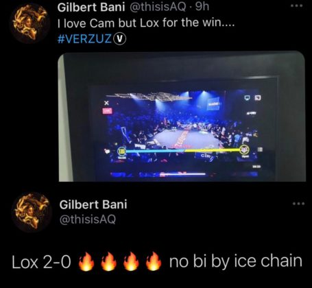 iLLBliss AQ Ghost The Lox Dipset Verzuz