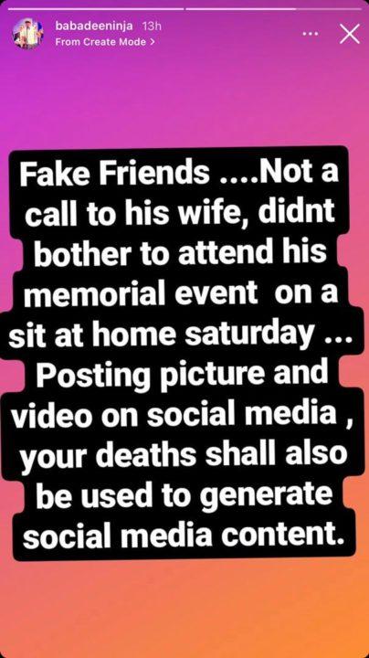 Baba Dee Sound Sultan Fake Friends