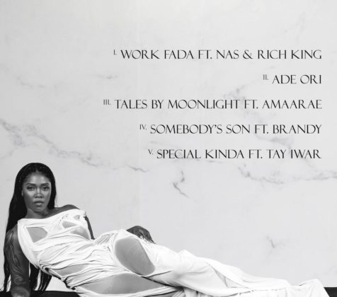 Nas Brandy Tiwa Savage EP Water and Garri