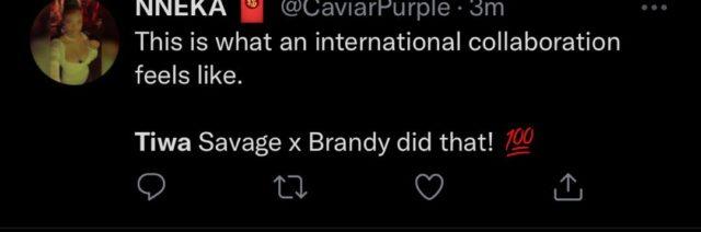 Tiwa Savage Water & Garri EP Reactions