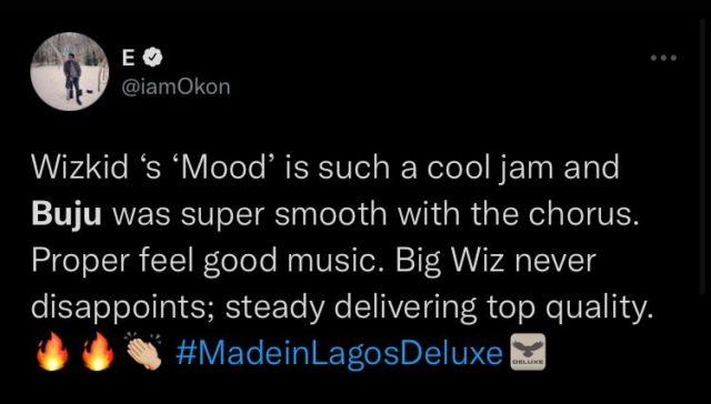 See The Reactions to Wizkid and Buju New Song NotjustOK