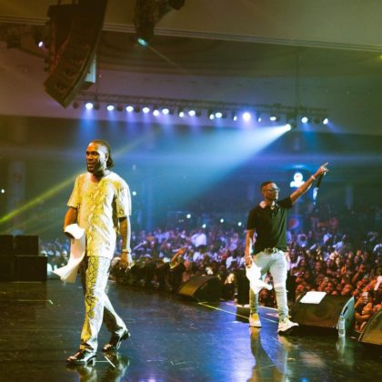 Read Wizkid's Message to Burna Boy Ahead of O2 Concert Tomorrow NotjustOK