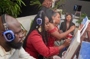 Yemi Alade Hosted Friends Fans to New EP Listening Watch Video NotjustOK