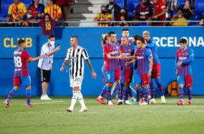 Barcelona vs Juventus 2021