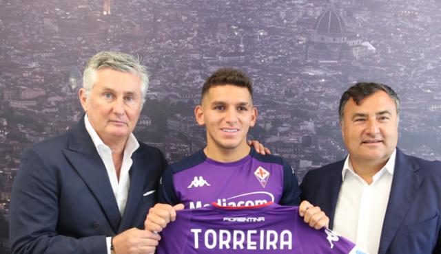 Lucas Torreira, Fiorentina