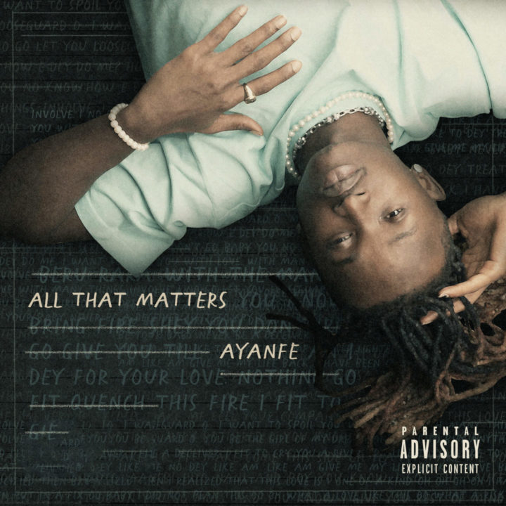 All That Matter EP Cover