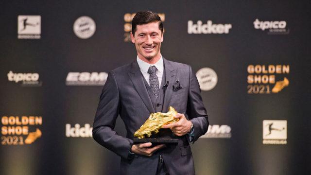 Lewandowski 2021 European Golden Shoe