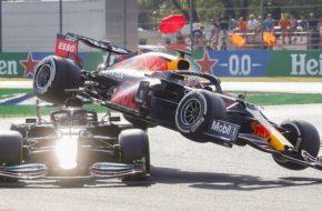 Hamilton& Verstappen Crash
