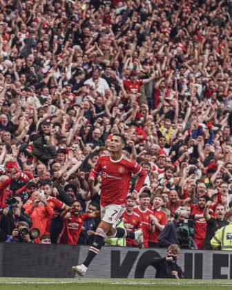 Ronaldo's celebration
