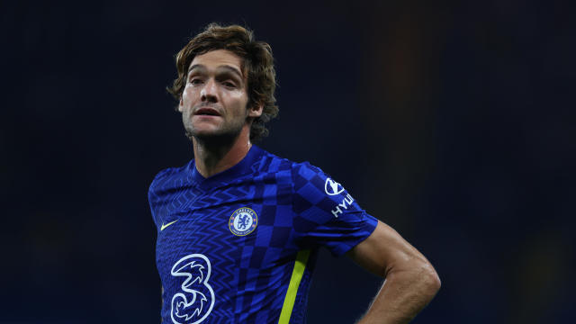 Marcos Alonso Knee