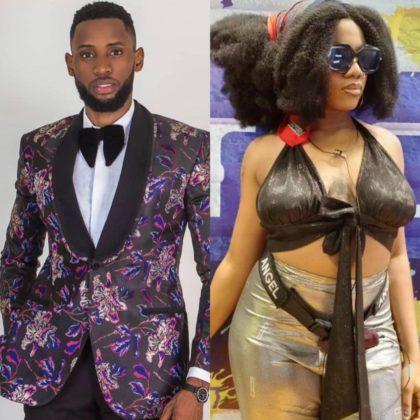 BBNaija Updates Emmanuel Tells Angel Why He Likes Her NotjustOK