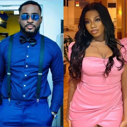 BBNaija Updates Watch Video of Pere and Angel Surprise Re-Entry NotjustOK