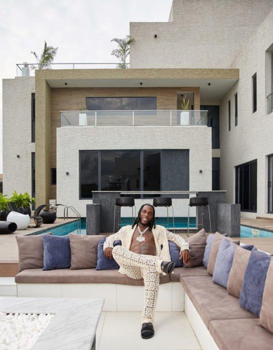 Burna Boy Lagos Home
