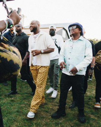 Watch Davido & Focalistic Perform at Kings of Amapiano in Manchester Video NotjustOK