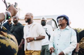 Watch Davido and Focalistic on Set of New Music Video in London NotjustOK