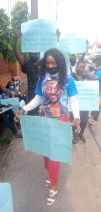 BBNaija Updates Pere Fans Stage Physical Protest Watch Video NotjustOK