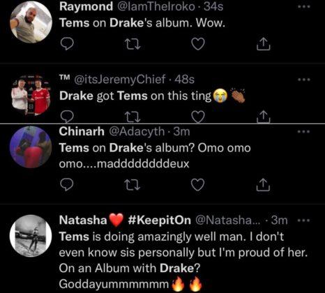 Drake Tems Certified Lover Boy Album