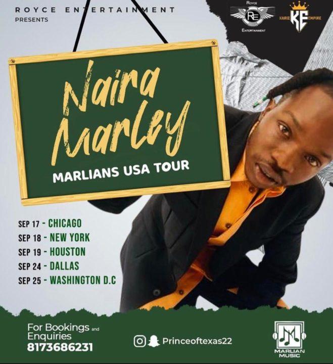 Naira Marley American Tour