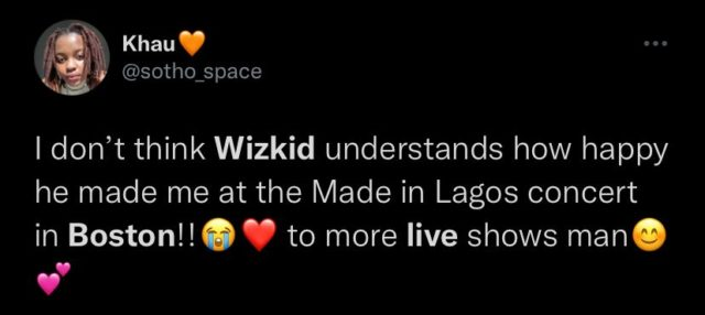 MILTour See Reactions From Fans in Boston after Wizkid Show NotjustOK