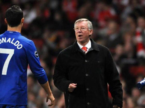 Ronaldo and Ferguson