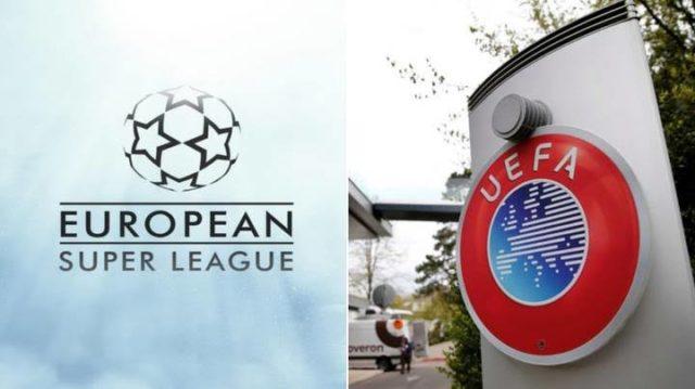 UEFA and European Super League