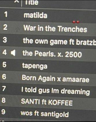 Santi Cruel Santino Album
