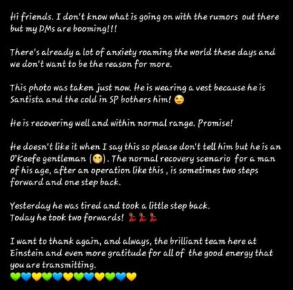 Kely's Instagram post