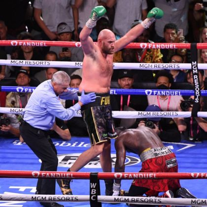 #FuryWilder3: Tyson Fury Knocks Out Deontay Wilder