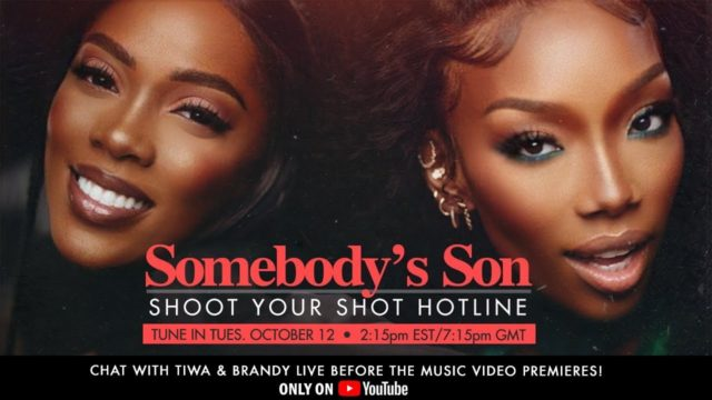 Tiwa Savage and Brandy Host 'Shoot Your Shot' Video Hotline with Fans